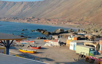 Capacitación a pescadores artesanales de la cooperativa del Pacífico, Mehuín.