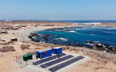 Especial Plantas Desalinizadoras de agua de mar, en caletas pesqueras de Chile